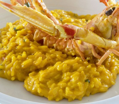 shrimp-saffron-risotto